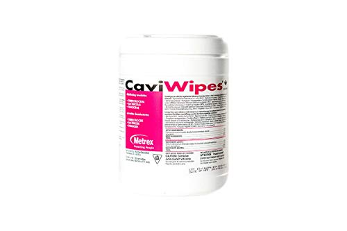 CaviWipes - Cavicide Germacidal Cleaner Wipes 160 ct by Metrex