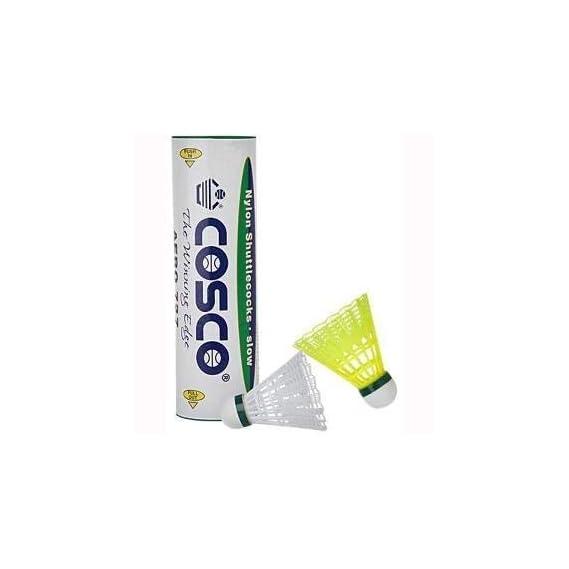 Cosco 727 Nylon Shuttlecock (White)