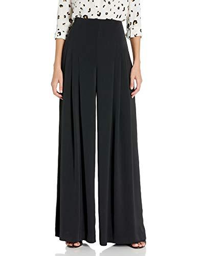 Dear Drew by Drew Barrymore Women's Maiden Lane High Waisted Wide Leg Trouser, Tap Shoe, 2