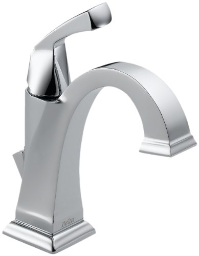 Delta Faucet Dryden Single Hole Bathroom Faucet