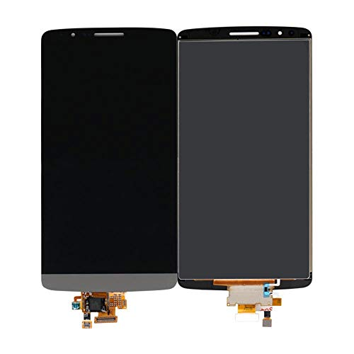 AN-JING Piezas de Repuesto G3 for LG D850 Pantalla LCD con Pantalla táctil LCD for LG G3 (Color : Black, Size : 5.5