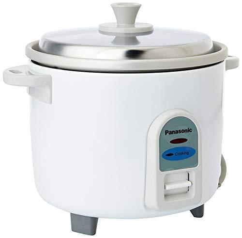 Panasonic Aluminium Rice Cooker, 500ml, White
