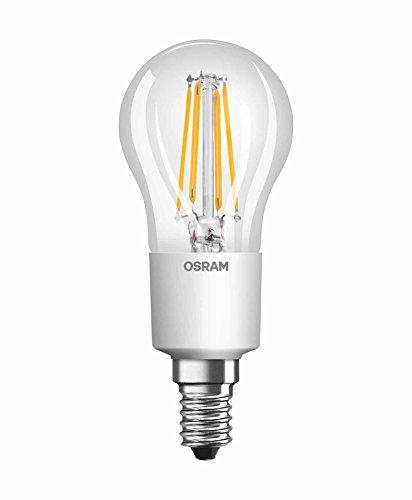 Osram Ampoule LED à Filament | Culot E14 | Forme Sphérique | Dimmable | Blanc Chaud 2700K | 4,5W (équivalent 40W)