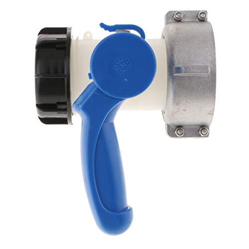 Wassertank-Zubehör, Adapter Regenwassertank Anschluss für IBC Wassertank Anschluss zum Tank / Hahn: 75mm.