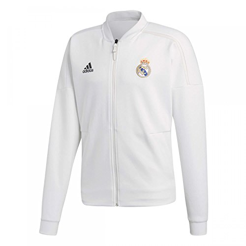 adidas Herren Real Madrid Anthem Jacket Jacke, core White/White, XL