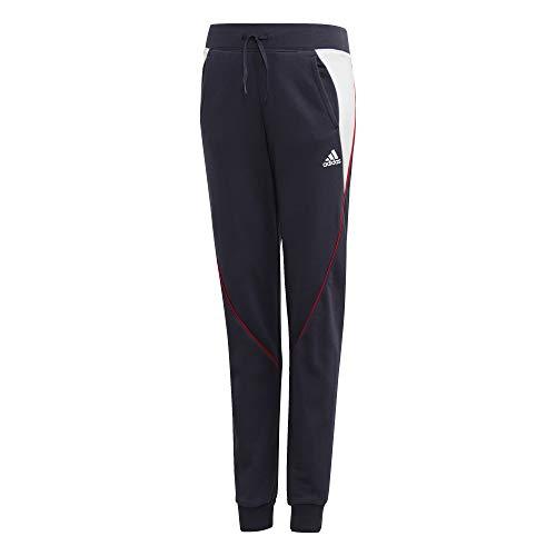 adidas - Fitness-Hosen für Mädchen in Tinley/Weiß, Größe 140 (9/10 años)