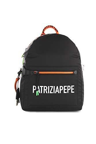 Patrizia Pepe - Zaino Con Tasca Frontale - 2v9891/a344, Nero