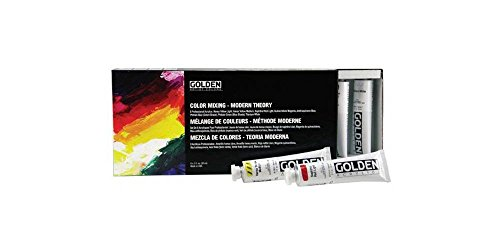 Heavy Body Acrylic Paint Modern Theory Color Mixing   (Set...
