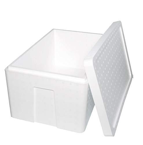 発泡スチロール 箱 (肉厚) 保温冷凍箱 1セット550×350×285mm 【内容量34リッター】