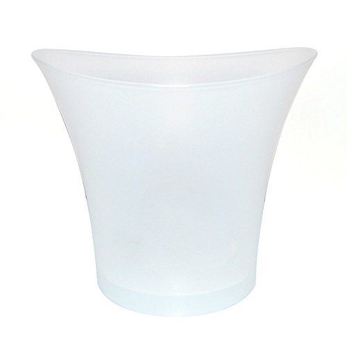 LED Cubo de Hielo Luminoso de Colores Degradado Cubo de Hielo Champán Enfriador Colores Cambio Cubo de Hielo para Fiesta Bar Casa Boda