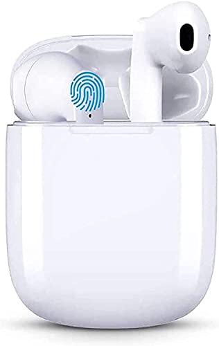 Bluetooth Kopfhörer in Ear, Wireless kopfhörer kopfhörer kabellos mit Kräftigem Bass with USB-C Quick Charge,IPX5 Wasserdicht, 5.0 HiFi Stereo So& True Wireless Earbuds mit Integriertem Mikrofon