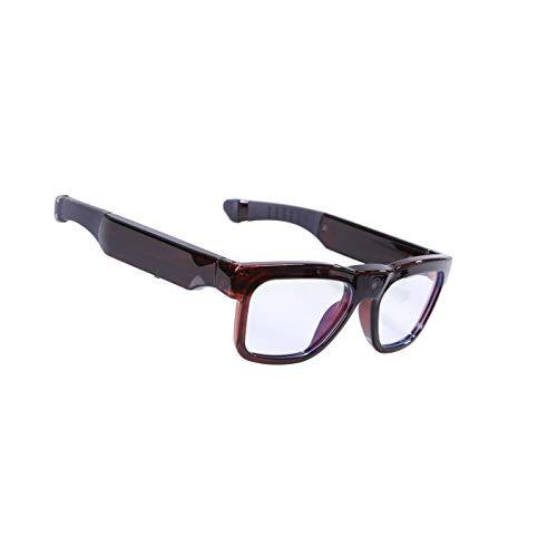 Gafas de sol con Bluetooth, gafas de sol inalámbricas con lentes de seguridad polarizadas UV400, diseño unisex, para todas las ediciones de teléfonos inteligentes
