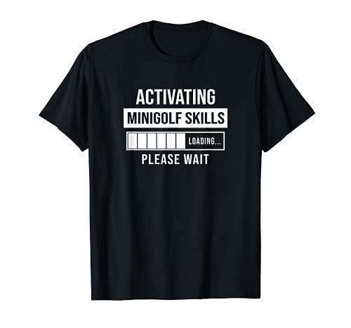 Hombre Minigolf Skills Activating - Divertido regalo de minigolf jugador Camiseta