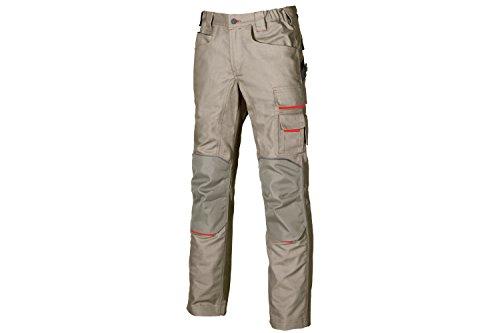 U POWER DW022DS-44 DW022DS-44-Pantalone Gamma Dont Worry Modello Free Taglia 44, Beige (Desert Sand DS), 40 Uomo