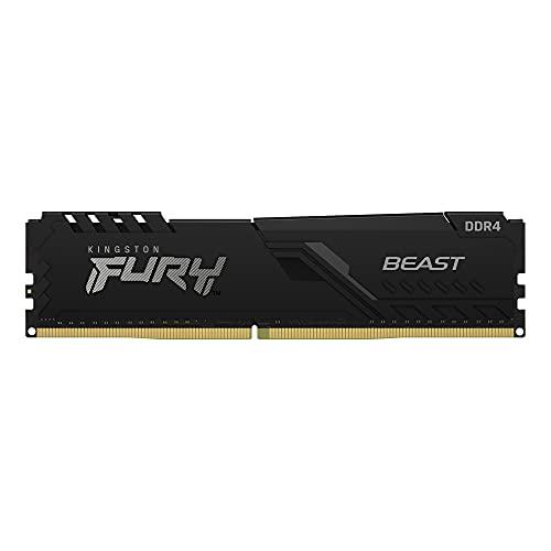 Kingston FURY Beast 8GB 3200MHz DDR4 CL16 Memoria Gaming Kit per Computer Fissi Modulo Singolo KF432C16BB/8