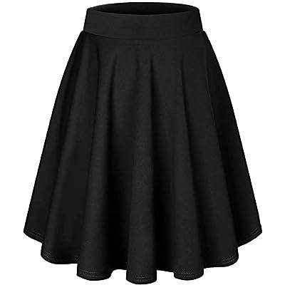DRESSTELLS Skirt for Women Mini Skirts Versatil...