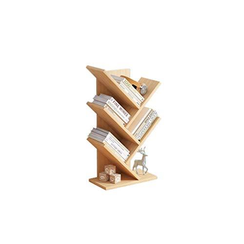 HyiFMY Tree Desktop Bookshelf Painera de 5 Niveles Escritorio de Almacenamiento Estante de Almacenamiento Moderno Organizador de estantes de estantería de pie for decoración de Oficina (Color: Azul)