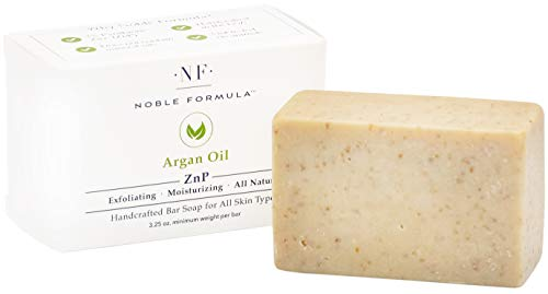 Noble Formula 2% Pyrithione Zinc (ZnP) Argan Oil Bar Soap