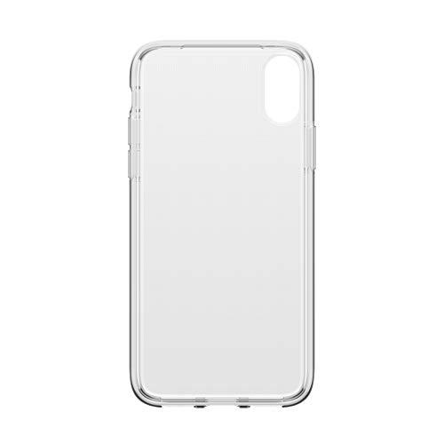 OtterBox Clearly Protected Skin Bundle Extra Slim Silikon Schutzhülle + Performance Glas Display Schutzglas, geeignet für iPhone X/Xs, transparent