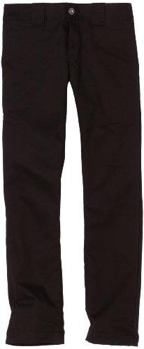 Dickies Big Boys' Skinny Straight Pant, Black, 14
