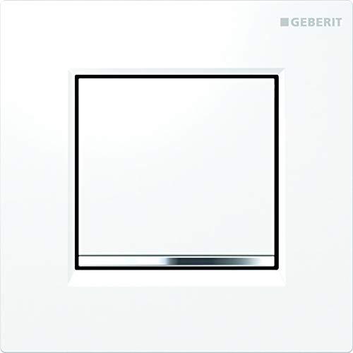 Geberit Urinalsteuerung (Betätigungsplatte mit Sicherungsriegel, geringe Auslösekraft, gering Hubbewegung) 116.017.KJ.1