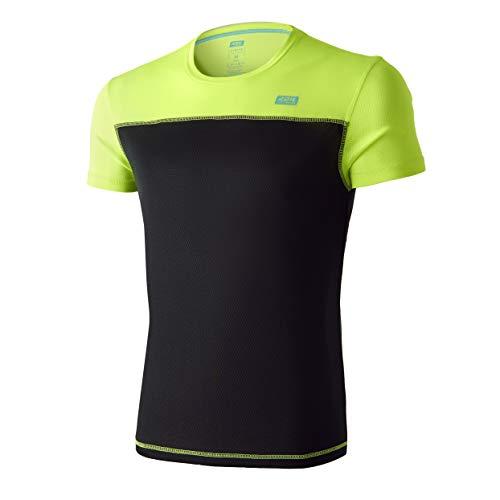 42K Running - Camiseta técnica 42K SYRUSS Hombre Anthracite M