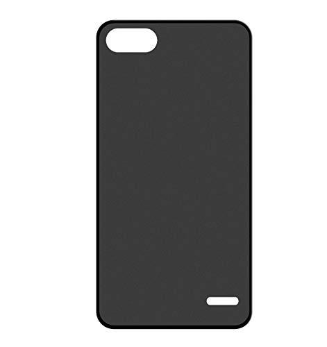 Sunrive Cover per Honor 4C/Huawei G Play Mini, Custodia 3D Case in Molle Matte TPU Silicone Morbida Flessibile AntiGraffio Protettiva Protector Back custodie Bumper(W1 Nero)