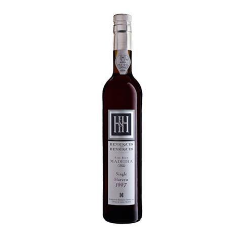 Henriques & Henriques - H H Fine Rich Single Harvest Madeira 1997