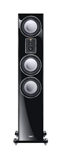 Magnat Signature 707, schwarz, 1 STK. - dynamischer 4-Wege Stand-Lautsprecher mit edler Hochglanz-Front für fantastischen Stereo- und Heimkino-Sound