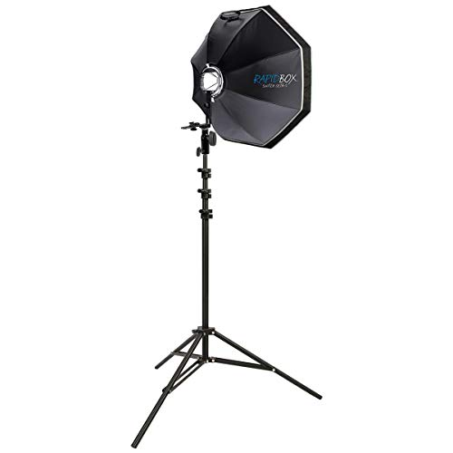 """Westcott rapid box switch octa speedlite kit with deflector plate (26"""") photography softbox with interchangeable light mount"""