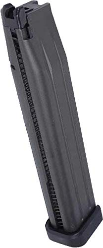 Evike WE 52rd Extended Magazine for WE Hi-Capa Airsoft GBB Gas Blowback Pistols