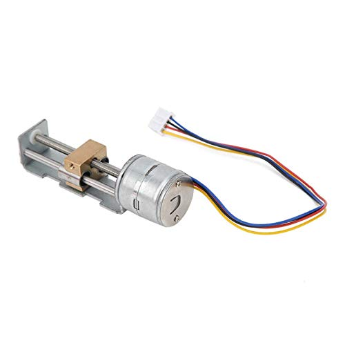 ZRNG Mini Linear Stage Actuator Small Slide Guide Rail Screw Lead Stepper Motor With Planetary Gearbox Reducer