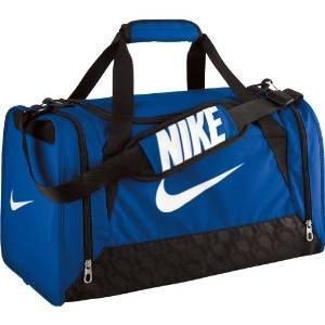 anvas Tasche Nike Brasilia 6 Unisex, Farbe Royal Blue/Black/White, Größe Small