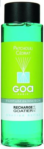 Goa 25924 Diffuseur Recharge Goatier Patchouli Cédrat 250 ML