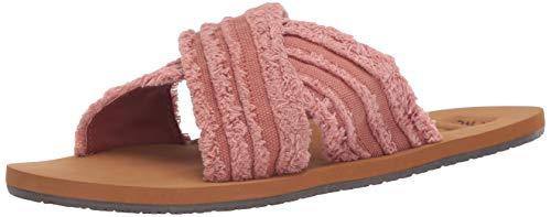 Billabong Women's High Sea Slide Sandal, Henna, 6 Regular US