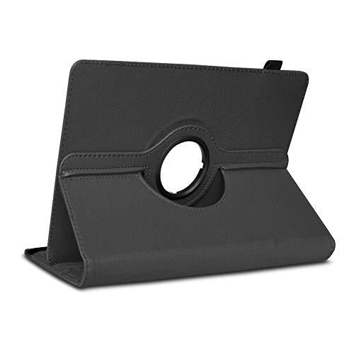 NAUC Medion Lifetab P10612 P10610 P10603 P10606 P10602 P9702 P9701 Tablet Tasche Hülle Schwarz Cover Case Schutzhülle