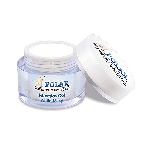 Fiberglas UV Gel white milky 25ml