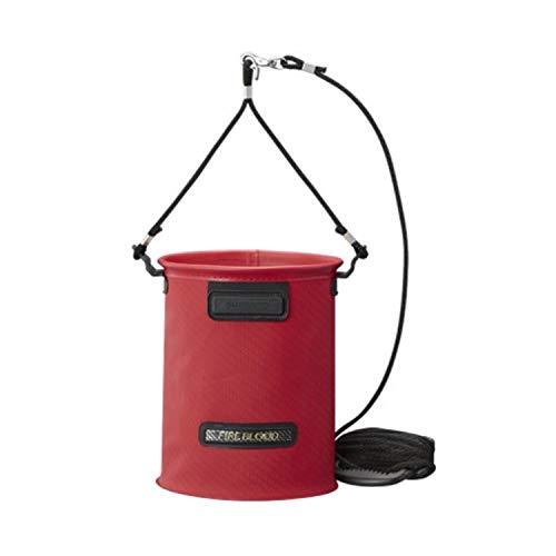 シマノ(SHIMANO) 水汲み バッカン リミテッドプロ BK-151S ブラッドレッド 17cm (4L)