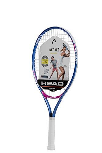 HEAD Instinct Kids Tennis Racquet - Beginners Pre-Strung Head Light Balance Jr Racket - 23