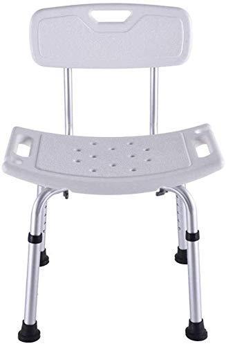ViewSys Bathroom Tabures, Ducha y bañera Silla de Ajuste de Altura es Ideal for los Ancianos, discapacitados y Personas de Movilidad Reducida Taburete de baño,