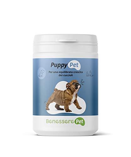 DYNAMOPET BenesserePet Puppy Complemento alimenticio para Cachorros 100gr, promueve el Crecimiento equilibrado de Perros y Gatos Cachorros, complemento para Huesos y articulaciones Fuertes