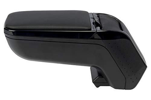ARMSTER - APOYABRAZOS ESPECÍFICO Negro para Renault ZOE con Compartimiento EXTRAÍBLE