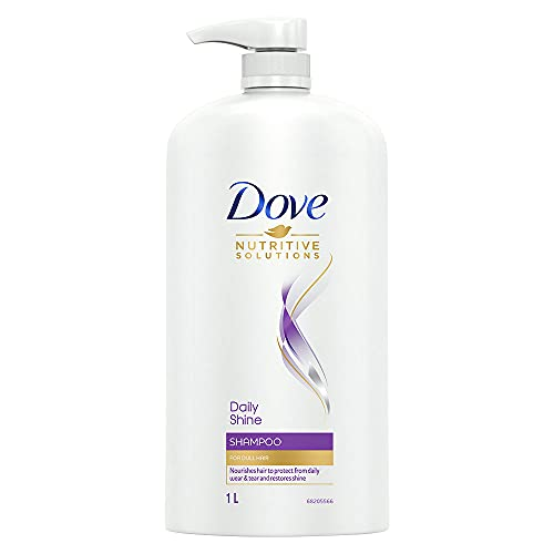 Dove Daily Shine Shampoo For Dull Hair, 1 Ltr