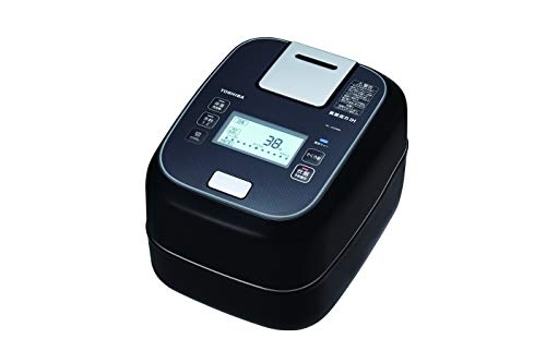 東芝真空圧力IHジャー炊飯器(5.5合炊き)グランブラックTOSHIBA圧力+真空合わせ炊きRC-10ZWM-K