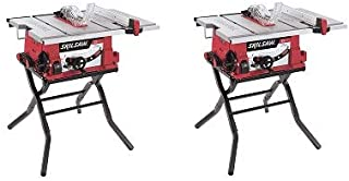 SKIL 3410-02 10-Inch Table Saw with Folding Stand (2-(Pack))