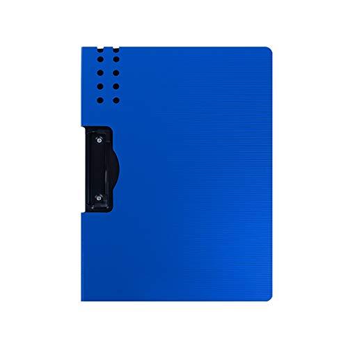 Tavoletta Portablocco Pieghevole clipboard per appunti PP File Floder Binder Resume / Conferenza / Documento legale Organizzatore esecutivo con lettere / Dimensione A4 (5 confezioni) Clipboard