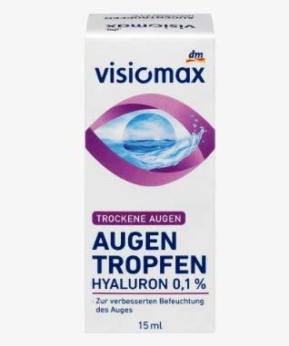 Visiomax Oogdruppels met 0,1% hyaluronzuur – 15 ml