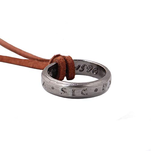 Uncharted Nathan Drake S Ring With Necklace Strap From Collector S