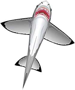 WindnSun SeaLife Great White Shark Nylon Kite-60 Inches Tall by BRAIN STORM KITES