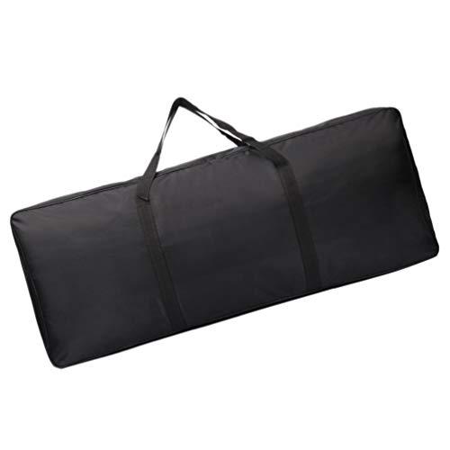 jojofuny Keyboard Case Electronic Piano Gig Bag Waterproof 61 Key Keyboard Handbag Bolsa de Transporte Hombro Backpack for Outdoor Travel